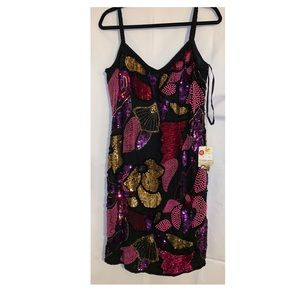 Dresses & Skirts - NWT vintage full sequin and pearl dress